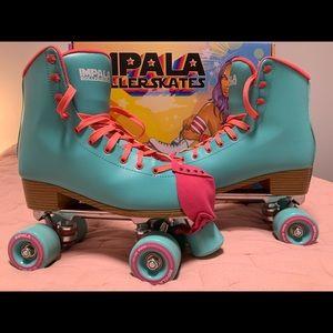 Aqua Impala Skates with Toe Guard size 9
